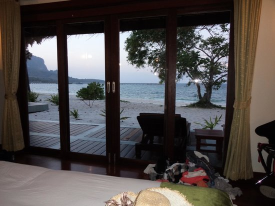 Koh Mook Sivalai Beach Resort : Sea View