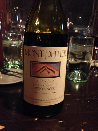 "Jackson 20: Montpellier Pinot Noir 2012 from the ""20 for $20"" list"