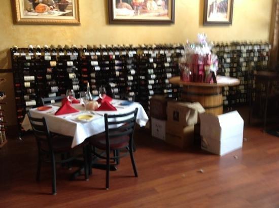 Pignetti's: Wine selection