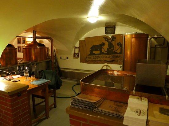 Пивоварня ресторана U Medvidku.
