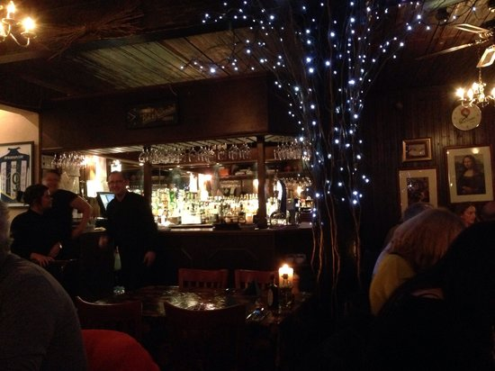 The bar in cafe da Vinci
