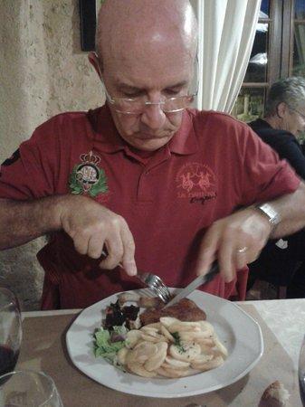 Restaurant de l'Abbaye : cuisse de canard