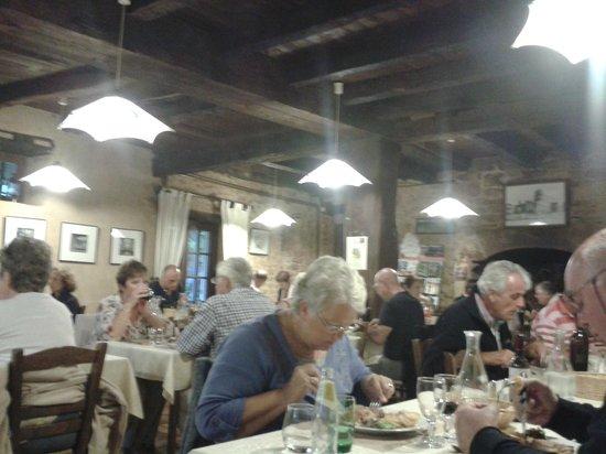 Restaurant de l'Abbaye : salle du restaurant