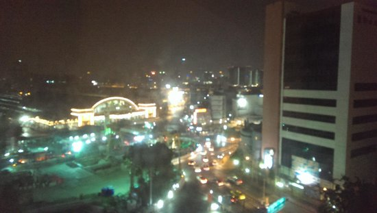 Prime Hotel Central Station Bangkok: view from room floor 10 odd numbers face front