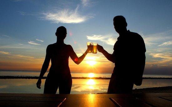 Royal Island Resort & Spa: Pôr do sol!