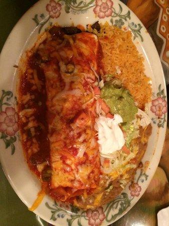 Fiesta Mexicana: Great burrito!