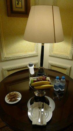 InterContinental Dar Al Tawhid: Complimentary fresh fruit