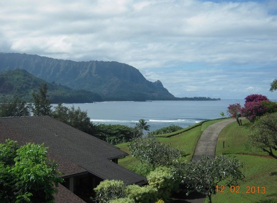Hanalei Bay Resort : This is the view from Unit 4221 lanai.