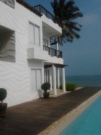 Villa Nalinnadda: The room upstairs is the best!