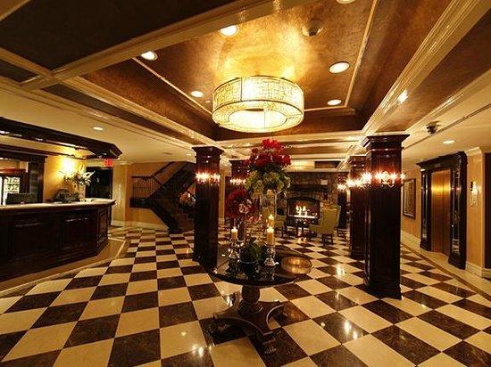 The Inn At Fox Hollow Hotel: Inn at Fox Hollow lobby