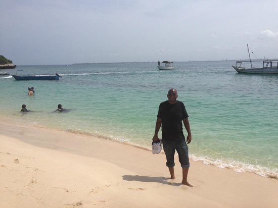 me on bongoyo island