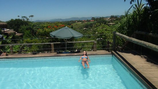 Morada da Praia do Rosa: Vista de la piscina