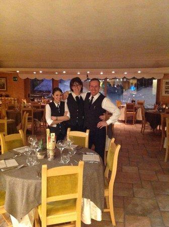 Baita Montana Spa Resort : ristorante