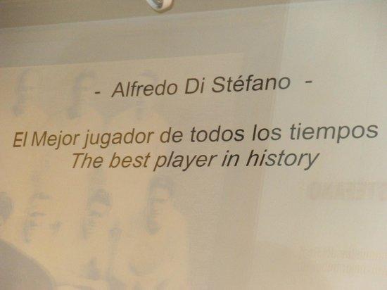 Estadio Santiago Bernabéu: Homenaje a un Grande la gran Zaeta Rubia