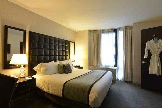 Distrikt Hotel: Bedroom