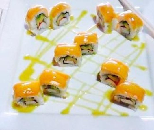El Sushi de Holbox: Mango roll