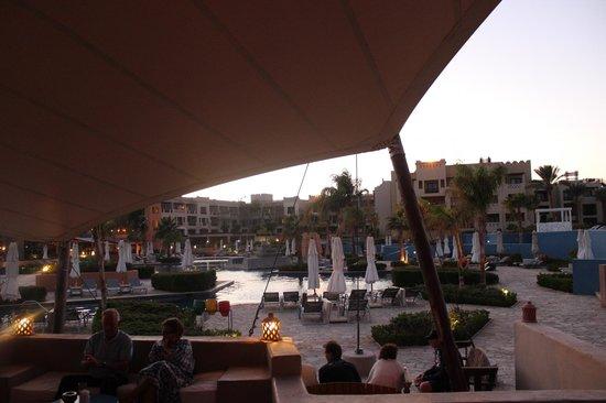 Siva Port Ghalib : вид с бара