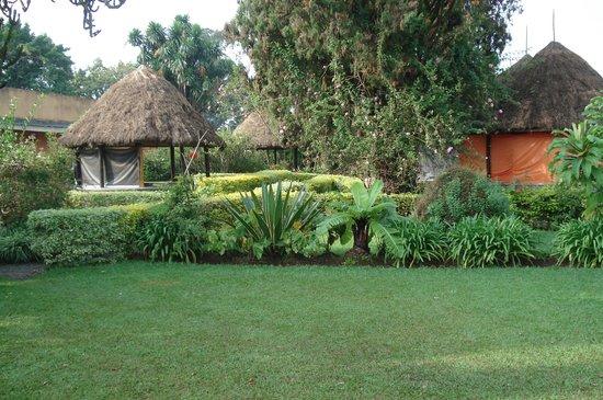 Hotel Muhabura : Garden