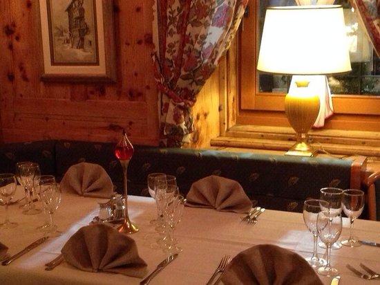 Hotel Alpina: Il nostro tavolo