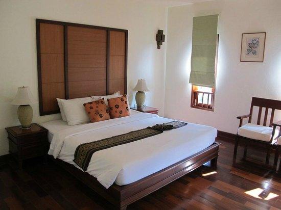 Teak Garden Spa Resort : spacious bedroom
