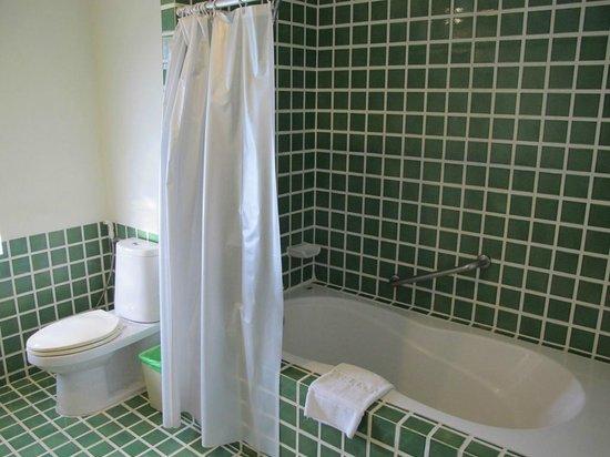 Teak Garden Spa Resort : spacious bathroom