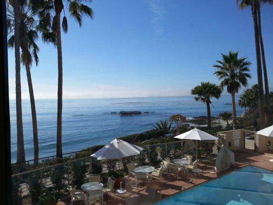 The Inn At Laguna Beach: View from our room