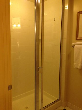 Marriott's Fairway Villas: Master Bath walk-in shower