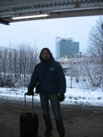 Scandic Talk: Отель уже за спиной, мы на перроне, уезжаем