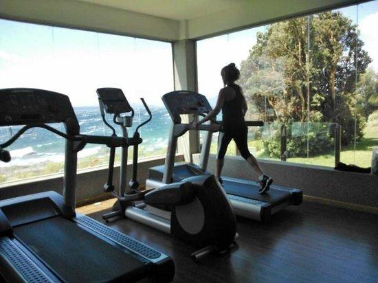 Alma del Lago Suites & Spa: En el gym del Hotel