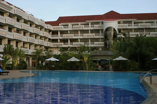 Angkor Century Resort & Spa: the Angkor Century Resort  & Spa  as seen from the Pool Deck