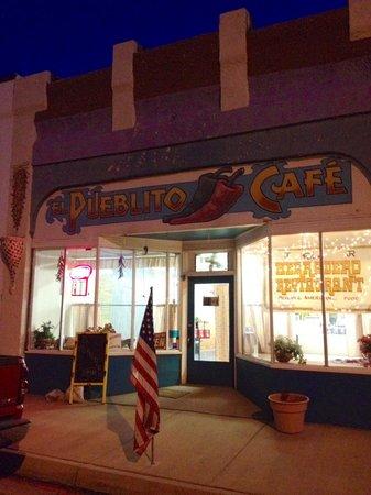 El Herradero: Front of restaurant on Main Street.