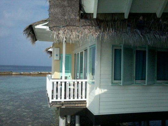 Ellaidhoo Maldives by Cinnamon: Outside the Water Bungalow
