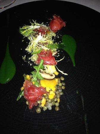 Restaurant In den Doofpot: Apetizer with pumpkin