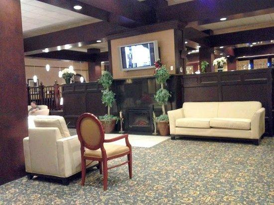 Holiday Inn Tewksbury Andover : Lobby area