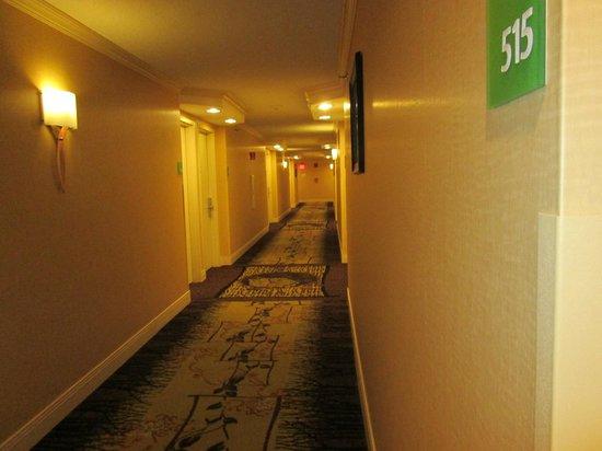 Holiday Inn Tewksbury Andover : Hallway
