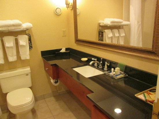 Holiday Inn Tewksbury Andover : Bathroom