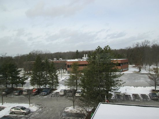 Holiday Inn Tewksbury Andover : View from my room