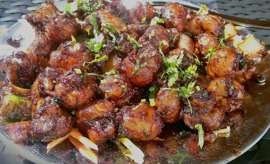 Bukhara: garlic mushrooms