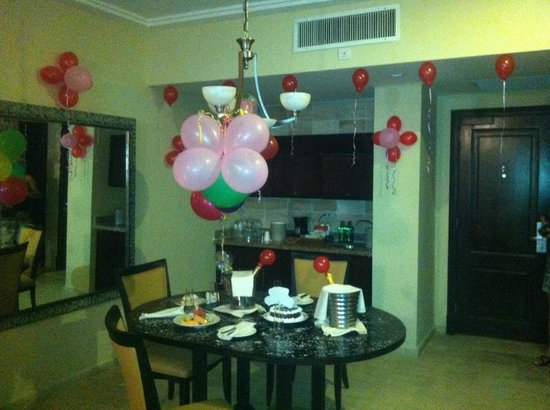 The Reserve at Paradisus Punta Cana : Surprise Birthday Party Courtesy of our Concierges