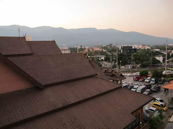 Khum Phucome Hotel : view from balcony