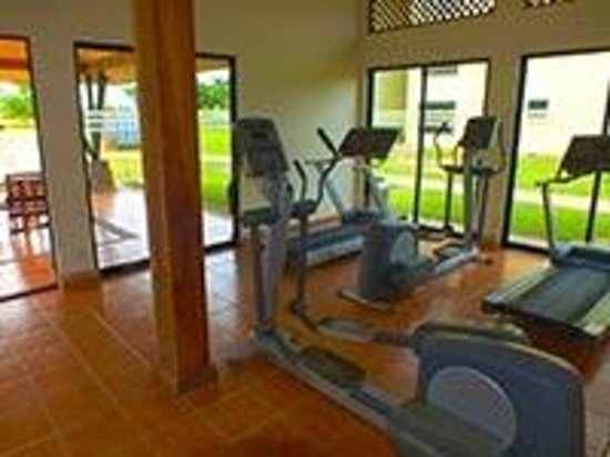 Guanacaste Expeditions : Condo Exercise Room by Pool