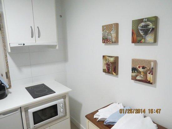 Apartamentos Cruceiro Do Galo: Cocina