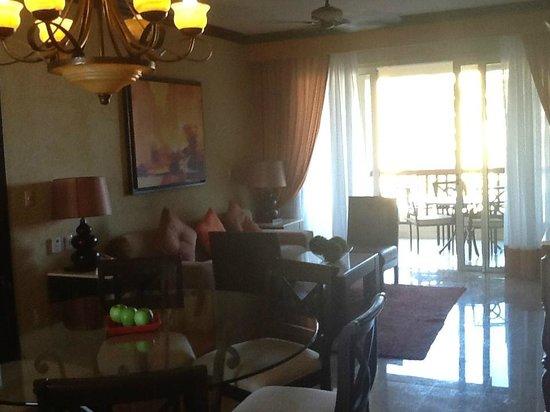 Villa del Palmar Cancun Beach Resort & Spa: Living Room
