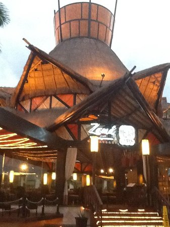 Villa del Palmar Cancun Beach Resort & Spa: Zama restaurant