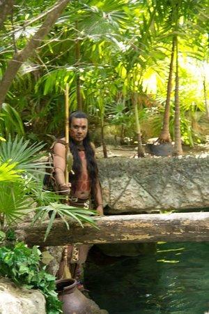 Xcaret Eco Theme Park : maya