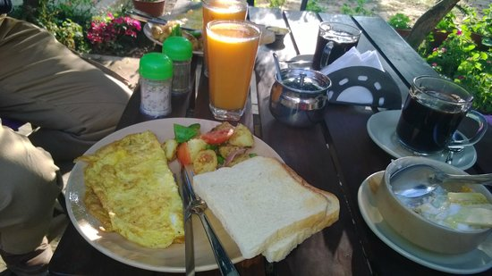 Placid Valley Lodge: yummie breakfast