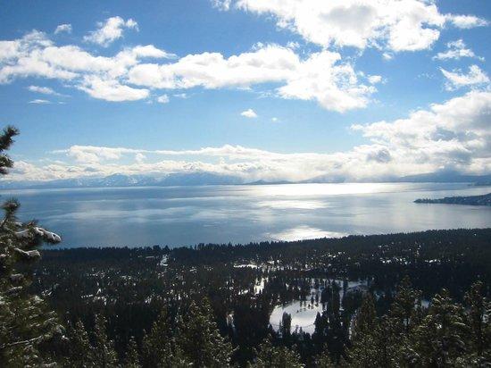 Diamond Peak Ski Resort: Tremendous view from the top of Diamond Peak