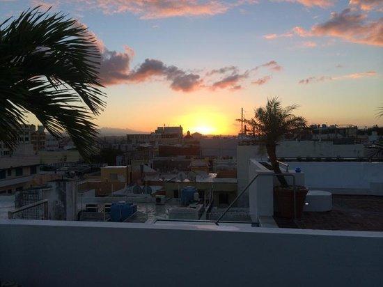 La Terraza de San Juan: Rooftop View