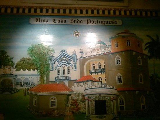 Delicias De Goa: Wall