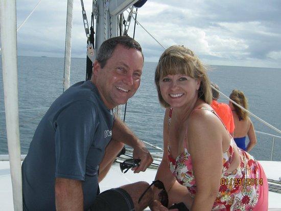 Sailaway: On the catamaran